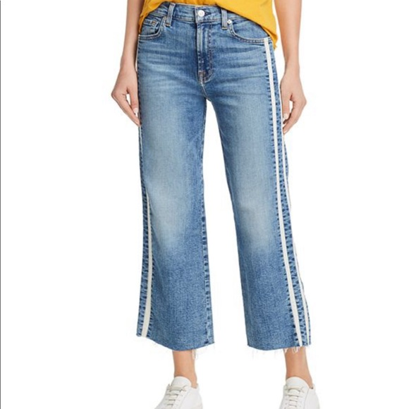 7 For All Mankind Denim - 7 for all mankind Alexa cropped jean sz 24